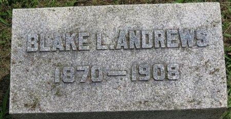ANDREWS, BLAKE L. - Ashland County, Ohio | BLAKE L. ANDREWS - Ohio Gravestone Photos