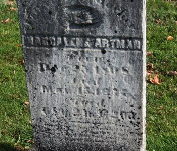 ARTMAN, MAGDELENE - Ashland County, Ohio | MAGDELENE ARTMAN - Ohio Gravestone Photos