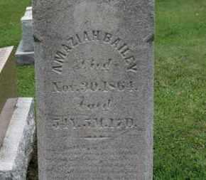 BAILEY, AMAZIA - Ashland County, Ohio | AMAZIA BAILEY - Ohio Gravestone Photos