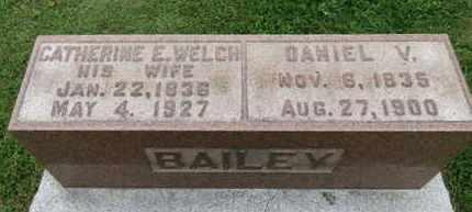 WELCH BAILEY, CATHERINE E. - Ashland County, Ohio   CATHERINE E. WELCH BAILEY - Ohio Gravestone Photos