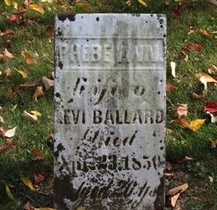 BALLARD, LEVI - Ashland County, Ohio | LEVI BALLARD - Ohio Gravestone Photos