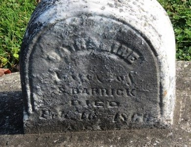 BARRICK, CATHARINE - Ashland County, Ohio | CATHARINE BARRICK - Ohio Gravestone Photos