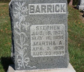 BARRICK, STEPHEN - Ashland County, Ohio | STEPHEN BARRICK - Ohio Gravestone Photos