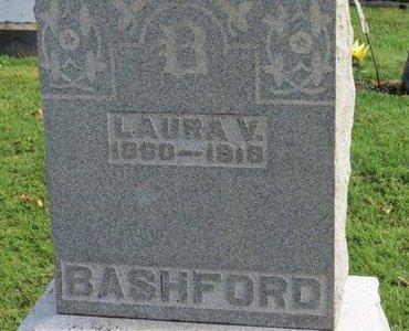 BASHFORD, LAURA V. - Ashland County, Ohio   LAURA V. BASHFORD - Ohio Gravestone Photos