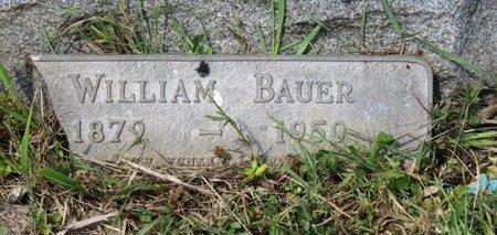 BAUER, WILLIAM - Ashland County, Ohio   WILLIAM BAUER - Ohio Gravestone Photos