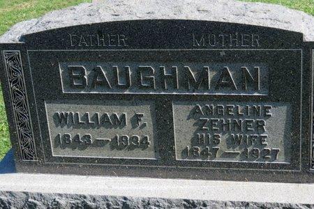 BAUGHMAN, WILLIAM F. - Ashland County, Ohio | WILLIAM F. BAUGHMAN - Ohio Gravestone Photos