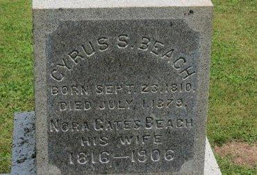 BEACH, CYRUS S. - Ashland County, Ohio   CYRUS S. BEACH - Ohio Gravestone Photos