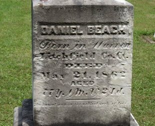 BEACH, DANIEL - Ashland County, Ohio | DANIEL BEACH - Ohio Gravestone Photos
