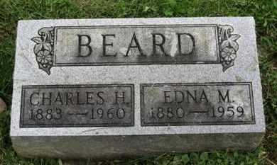 BEARD, EDNA M. - Ashland County, Ohio | EDNA M. BEARD - Ohio Gravestone Photos