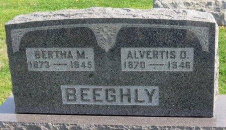 BEEGHLY, BERTHA M. - Ashland County, Ohio | BERTHA M. BEEGHLY - Ohio Gravestone Photos