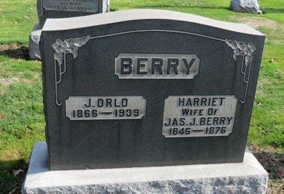 BERRY, HARRIET - Ashland County, Ohio | HARRIET BERRY - Ohio Gravestone Photos