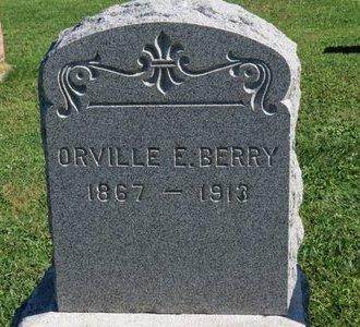 BERRY, ORVILLE E. - Ashland County, Ohio   ORVILLE E. BERRY - Ohio Gravestone Photos