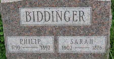 BIDDINGER, SARAH - Ashland County, Ohio | SARAH BIDDINGER - Ohio Gravestone Photos