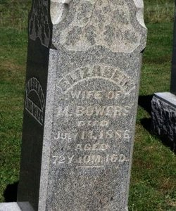 BOWERS, M. - Ashland County, Ohio | M. BOWERS - Ohio Gravestone Photos