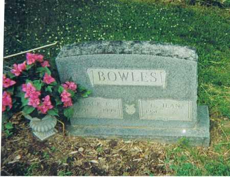 "BOWLES, JOHN ERIE ""JACK"" - Ashland County, Ohio   JOHN ERIE ""JACK"" BOWLES - Ohio Gravestone Photos"