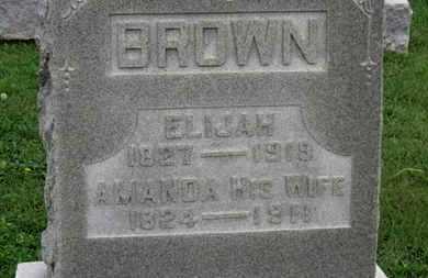 BROWN, AMANDA - Ashland County, Ohio | AMANDA BROWN - Ohio Gravestone Photos