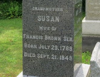 BROWN, SUSAN - Ashland County, Ohio | SUSAN BROWN - Ohio Gravestone Photos