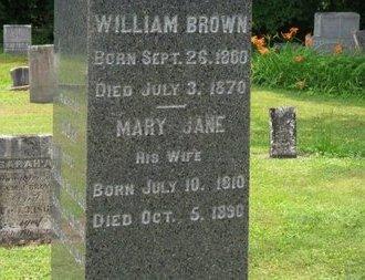 BROWN, WILLIAM - Ashland County, Ohio | WILLIAM BROWN - Ohio Gravestone Photos