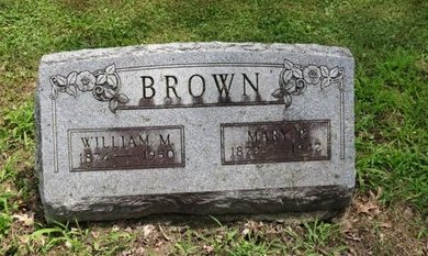 BROWN, WILLIAM M. - Ashland County, Ohio | WILLIAM M. BROWN - Ohio Gravestone Photos