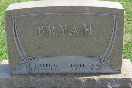 BRYAN, LAURETTA M. - Ashland County, Ohio   LAURETTA M. BRYAN - Ohio Gravestone Photos