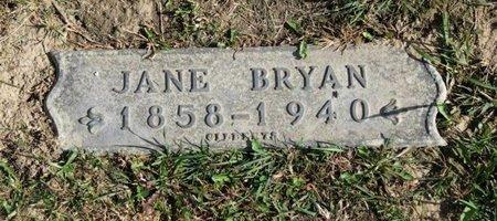 BRYAN, JANE - Ashland County, Ohio   JANE BRYAN - Ohio Gravestone Photos
