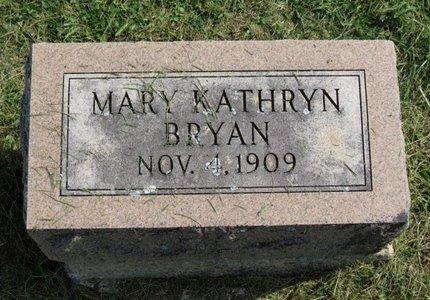 BRYAN, MARY KATHRYN - Ashland County, Ohio | MARY KATHRYN BRYAN - Ohio Gravestone Photos