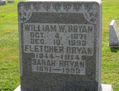 BRYAN, SARAH - Ashland County, Ohio | SARAH BRYAN - Ohio Gravestone Photos