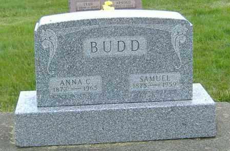 BUDD, SAMUEL - Ashland County, Ohio   SAMUEL BUDD - Ohio Gravestone Photos
