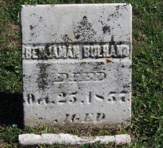 BULHAND, BENJAMAN - Ashland County, Ohio | BENJAMAN BULHAND - Ohio Gravestone Photos