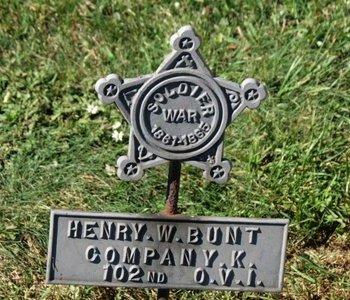 BUNT, HENRY W. - Ashland County, Ohio | HENRY W. BUNT - Ohio Gravestone Photos