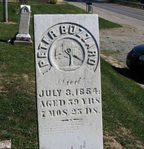 BUZZARD, PETER - Ashland County, Ohio | PETER BUZZARD - Ohio Gravestone Photos