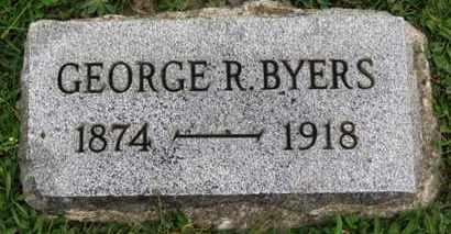 BYERS, GEORGE R. - Ashland County, Ohio | GEORGE R. BYERS - Ohio Gravestone Photos