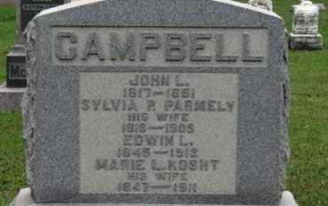 CAMPBELL, JOHN L. - Ashland County, Ohio | JOHN L. CAMPBELL - Ohio Gravestone Photos