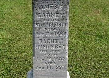 CARNEY, RACHEL - Ashland County, Ohio | RACHEL CARNEY - Ohio Gravestone Photos