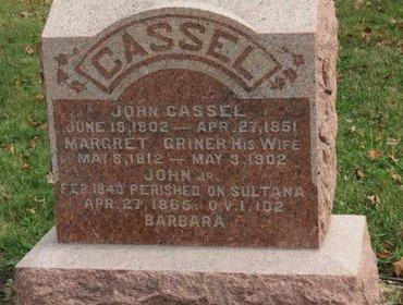 CASSEL, JOHN - Ashland County, Ohio   JOHN CASSEL - Ohio Gravestone Photos