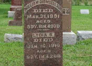 CHAMBERLAIN, LYDIA B. - Ashland County, Ohio | LYDIA B. CHAMBERLAIN - Ohio Gravestone Photos