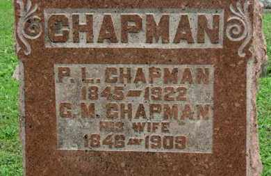 CHAPMAN, P.L. - Ashland County, Ohio | P.L. CHAPMAN - Ohio Gravestone Photos