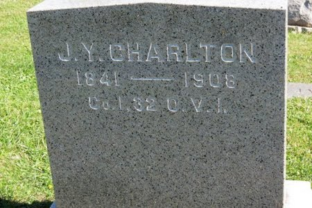CHARLTON, J.Y. - Ashland County, Ohio   J.Y. CHARLTON - Ohio Gravestone Photos