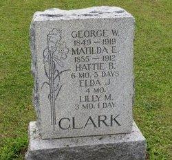 CLARK, HATTIE B. - Ashland County, Ohio | HATTIE B. CLARK - Ohio Gravestone Photos