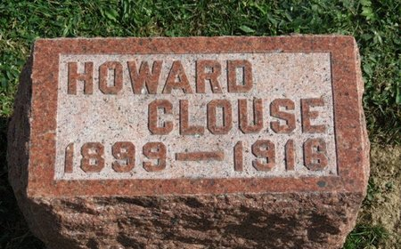 CLOUSE, HOWARD - Ashland County, Ohio | HOWARD CLOUSE - Ohio Gravestone Photos