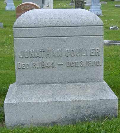 COULTER, JONATHAN - Ashland County, Ohio   JONATHAN COULTER - Ohio Gravestone Photos