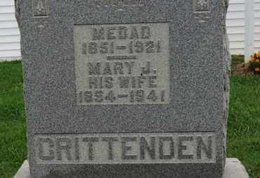 CRITTENDEN, MARY J. - Ashland County, Ohio | MARY J. CRITTENDEN - Ohio Gravestone Photos