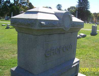 CROFOOT, FRANCIS - Ashland County, Ohio | FRANCIS CROFOOT - Ohio Gravestone Photos