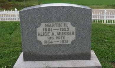 CRUMRINE, ALICE A. - Ashland County, Ohio | ALICE A. CRUMRINE - Ohio Gravestone Photos