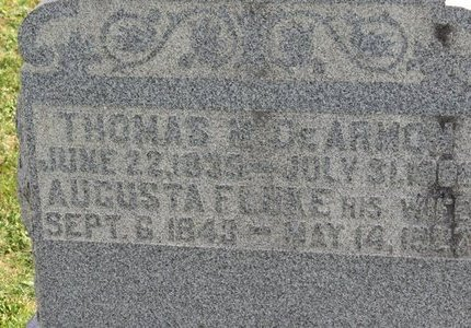 DEARMON, AUGUSTA - Ashland County, Ohio   AUGUSTA DEARMON - Ohio Gravestone Photos