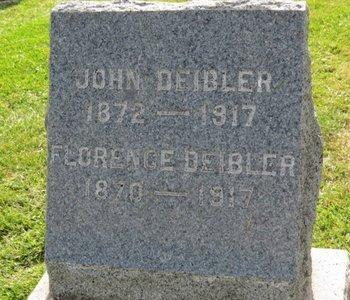DEIBLER, FLORENCE - Ashland County, Ohio | FLORENCE DEIBLER - Ohio Gravestone Photos