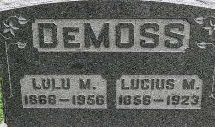 DEMOSS, LULU M. - Ashland County, Ohio | LULU M. DEMOSS - Ohio Gravestone Photos