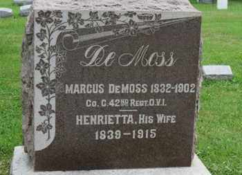 DEMOSS, HENRIETTA - Ashland County, Ohio | HENRIETTA DEMOSS - Ohio Gravestone Photos