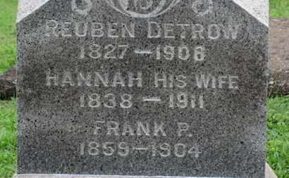 DETROW, FRANK P. - Ashland County, Ohio   FRANK P. DETROW - Ohio Gravestone Photos