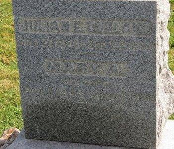 DORLAND, JULIAN E. - Ashland County, Ohio   JULIAN E. DORLAND - Ohio Gravestone Photos